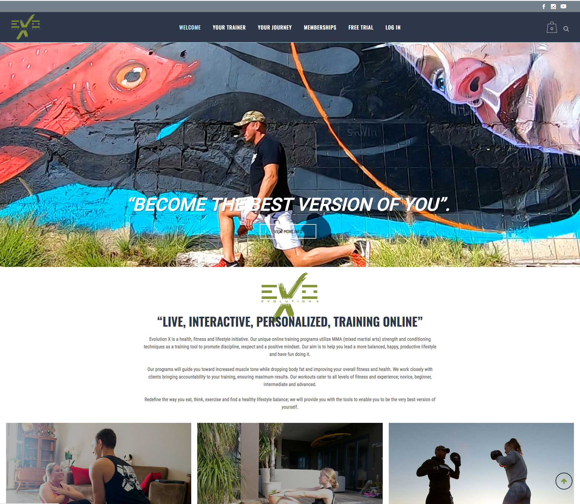 anthony grote website design